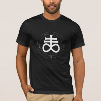 Alchemical Sulfur/Brimstone, Satanic Cross T-Shirt