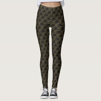 Alchemical symbol leggings