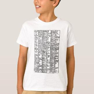 Alchemical Symbols 17th Century T-Shirt