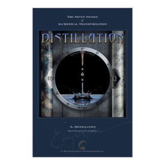 Alchemical Transformations 6: Distillation Poster