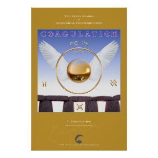 Alchemical Transformations 7: Coagulation Poster