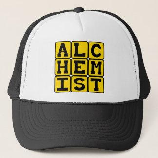 Alchemist, Chemical Transformation Trucker Hat