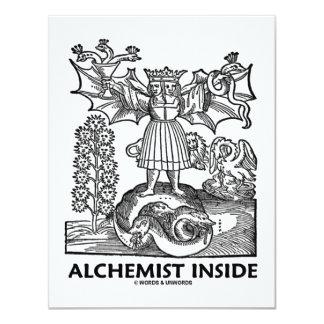 Alchemist Inside (Medieval Alchemy) Personalized Announcement