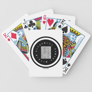 Alchemist Powers Within (Alchemy Table Logo) Bicycle Playing Cards