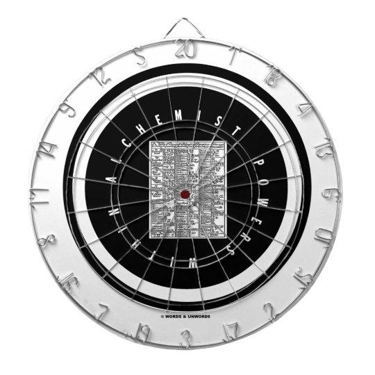 Alchemist Powers Within (Alchemy Table Logo) Dartboard With Darts