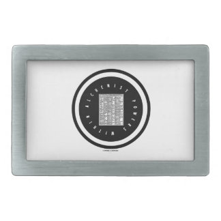 Alchemist Powers Within (Alchemy Table Logo) Rectangular Belt Buckle
