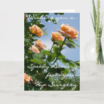 Alchemist Roses Get Well From Hip Surgery Card