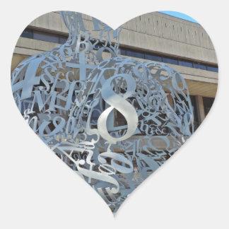 Alchemist Sculpture Heart Sticker