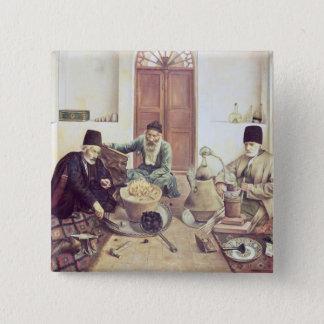 Alchemists, 1893 pinback button
