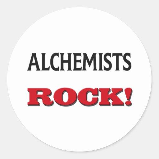 Alchemists Rock Classic Round Sticker