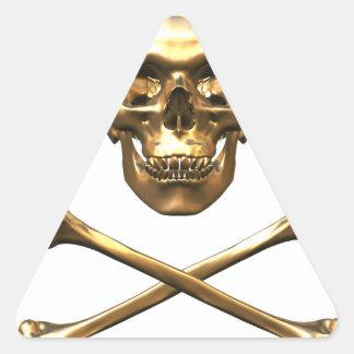 Alchemist's Skull and Bones Stickers