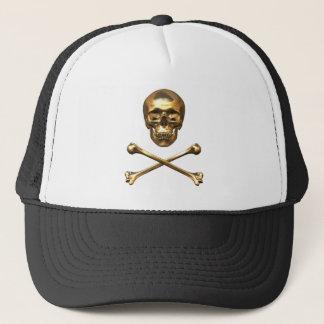 Alchemist's Skull and Bones Trucker Hat