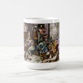 Alchemist's Workshop Classic White Coffee Mug