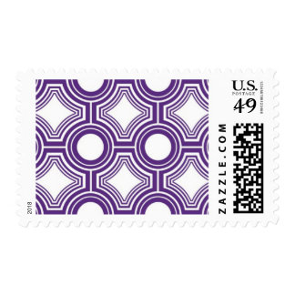Alchemy - Ceiling Tiles, Aubergine Postage Stamps