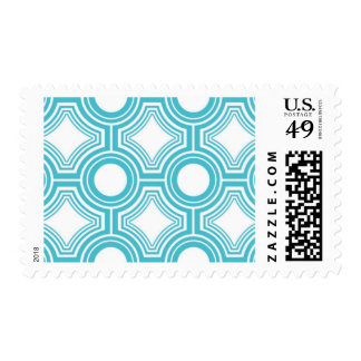 Alchemy - Ceiling Tiles, Blue Topaz Postage Stmaps