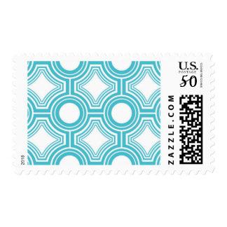 Alchemy - Ceiling Tiles, Blue Topaz Postage Stmaps