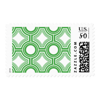 Alchemy - Ceiling Tiles, Green Postage Stamps
