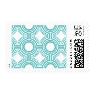 Alchemy - Ceiling Tiles, Teal Postage Stamps