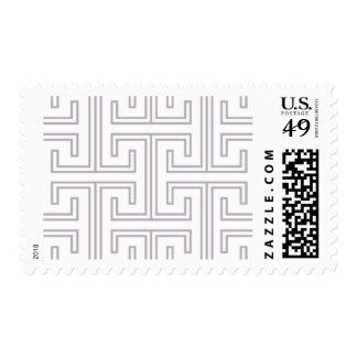 Alchemy - Greek Key, Hot Pink Stamps