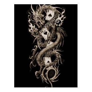 Alchemy Imperial Dragon Postcard