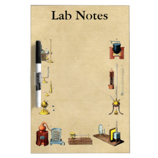 Alchemy Lab Notes for the Great Work Dry-Erase Board