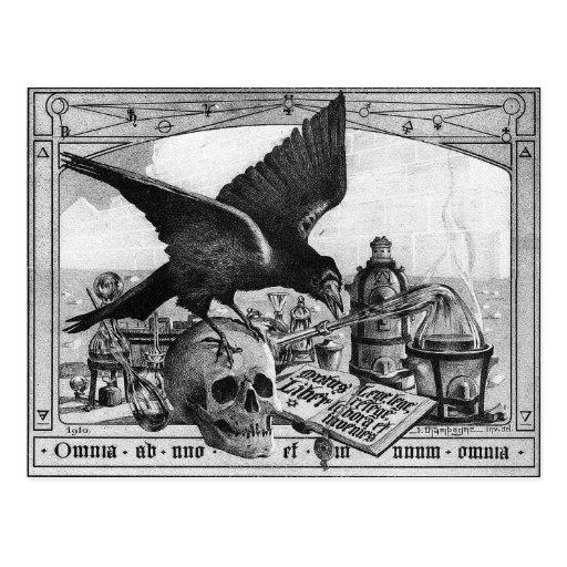 alchemy lab postcard
