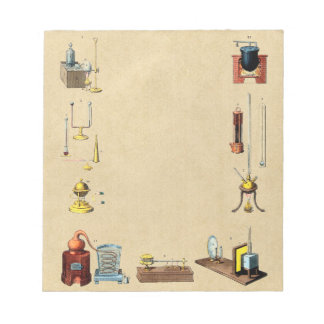 Alchemy Laboratory Tools for the Great Work Notepad