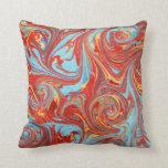 'Alchemy' marbled cushion Pillows