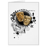 Alchemy of Acting Drama Masks Cards