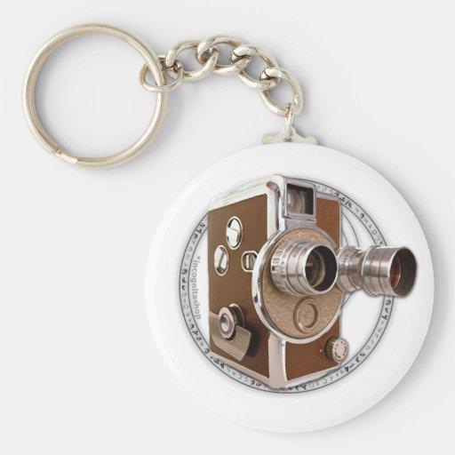 Alchemy of Filmmaking Image Basic Round Button Keychain