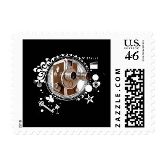 Alchemy of Filmmaking Image Postage Stamps