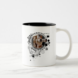 Alchemy of Filmmaking Image Two-Tone Coffee Mug