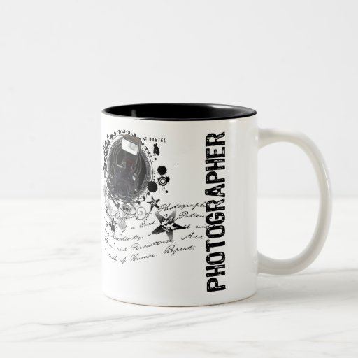 Alchemy of Photography (Photographer) Two-Tone Coffee Mug