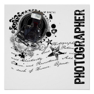 Alchemy of Photography (Photographer) Poster