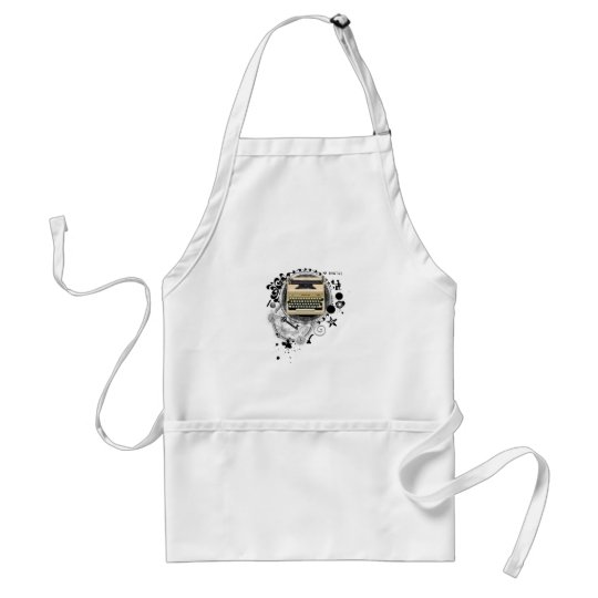 Alchemy of Writing Typewriter Adult Apron