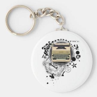 Alchemy of Writing Typewriter Key Chains