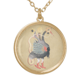 Alchemy Python Color Gold Plated Necklace