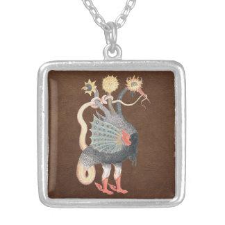 Alchemy Python Color Silver Plated Necklace