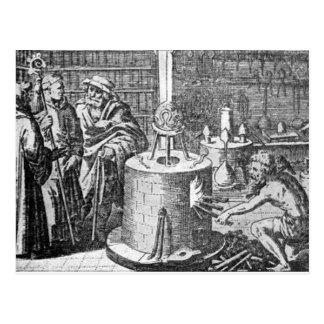 Alchemy Scene Postcard
