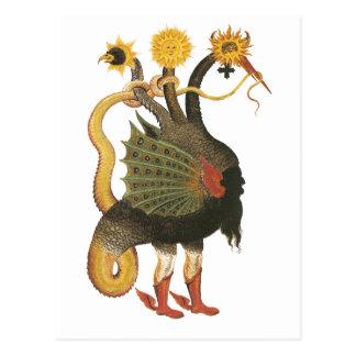 Alchemy Symbol Postcard