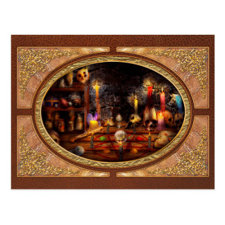 Alchemy - That old black magic Postcard