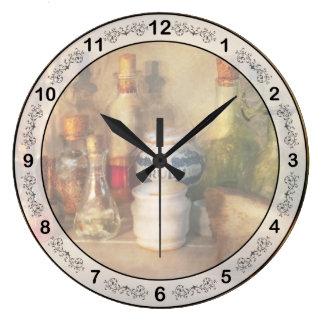 Alchemy - The home alchemist Large Clock