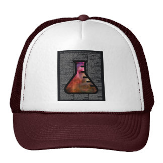 Alchemy Vial on Vintage Dictionary page Trucker Hat