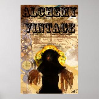 Alchemy Vintage Steam Punk Posters