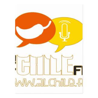 ALCHILE FM RADIO CUSTOMIZABLE PRODUCTS POSTCARD