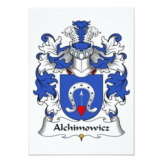 Alchimowicz Family Crest Card