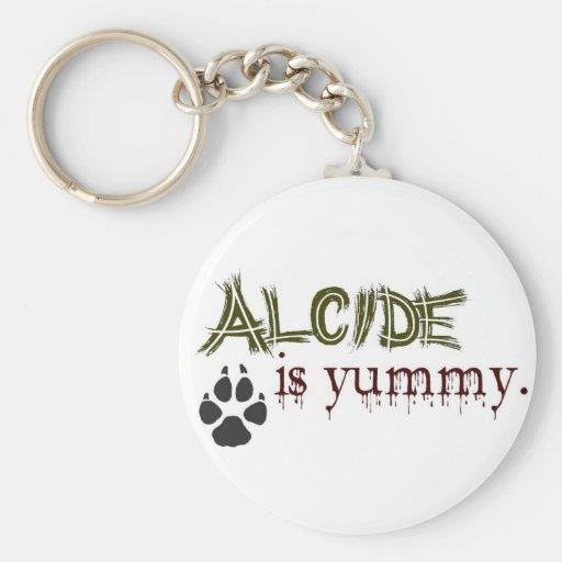 Alcide es delicioso llavero