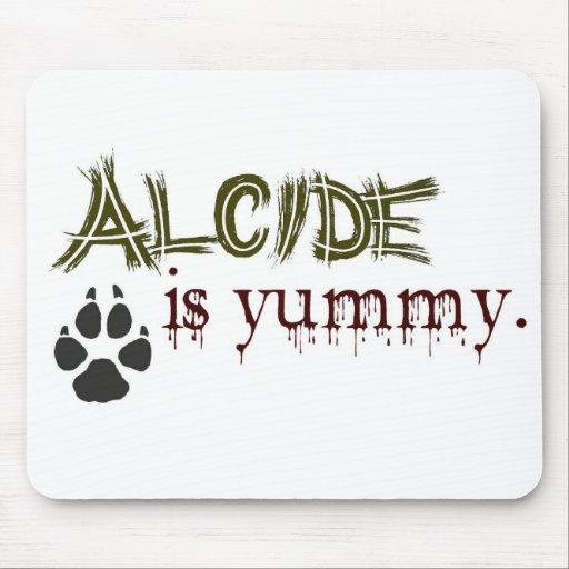Alcide es delicioso alfombrillas de ratones