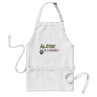 Alcide is Yummy. Adult Apron