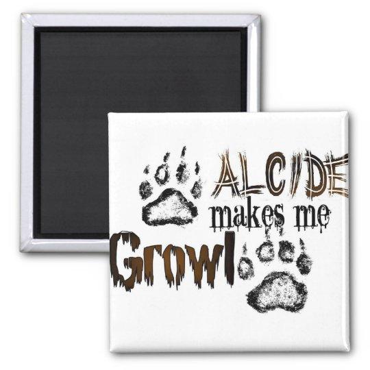 Alcide makes me growl magnet